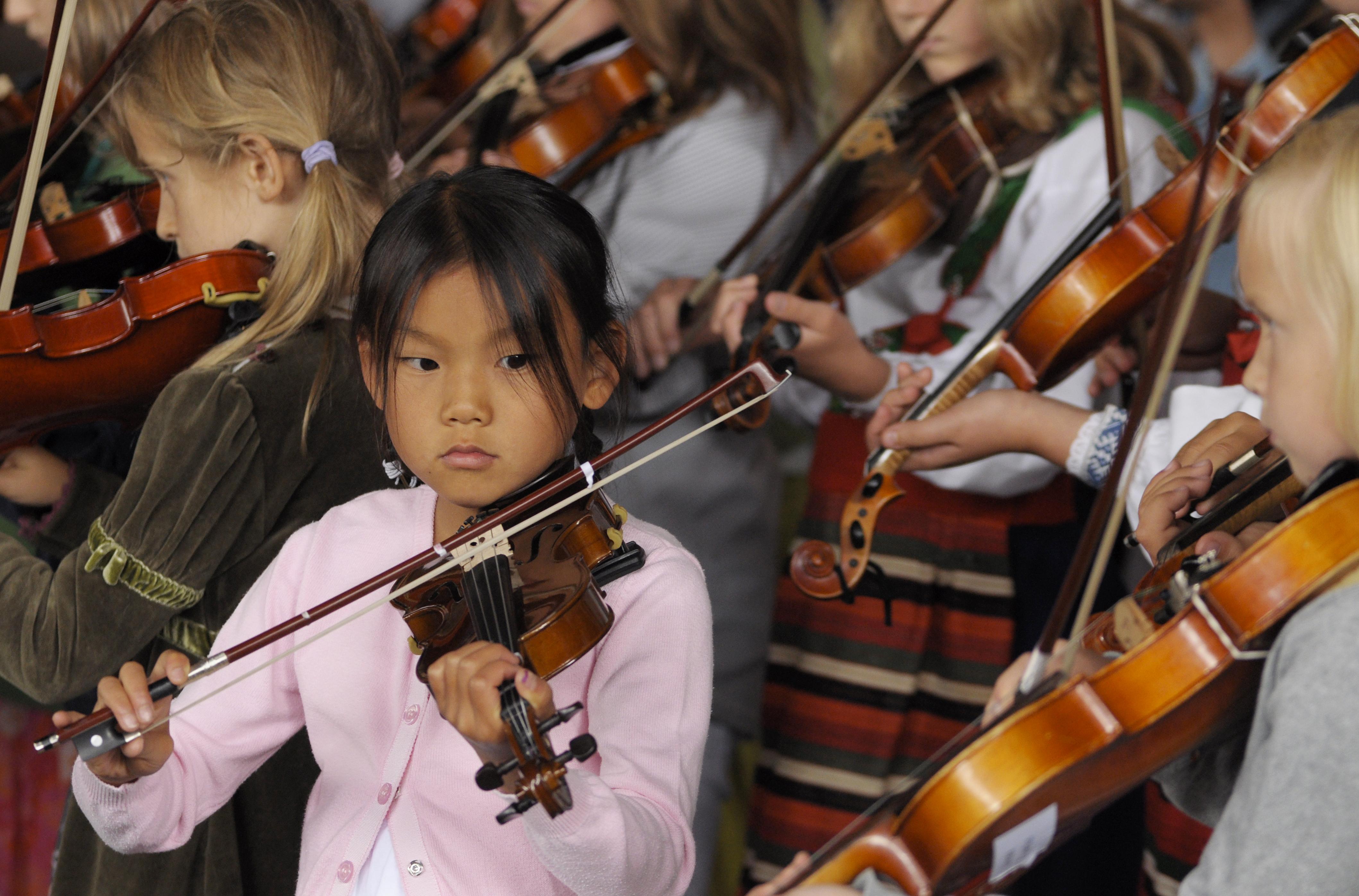 Barn och unga kurs folkmusik
