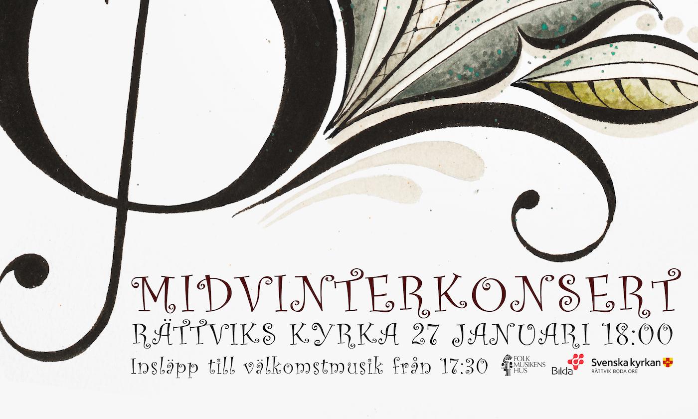 Midvinterkonsert I Rättviks Kyrka