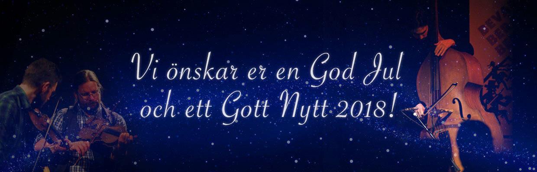 God Jul och Gott Nytt 2018