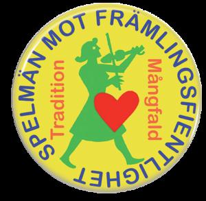 Logotyp Spelmän mot främlingsfientlighet