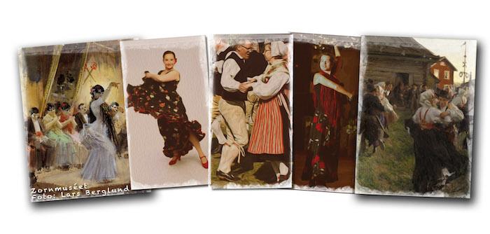 Collage Zorn Tar Andalusien Till Dalarna