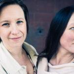 Foto på Johanna Bölja & Emma Härdelin