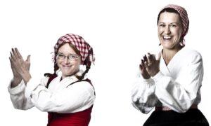 Foto på Maria Jonsson och Sofia Sandén