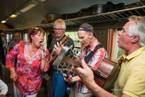 Foto på Karin Pehrs med vänner