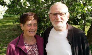 Foto på Maj-Britt och Yngve Hagman