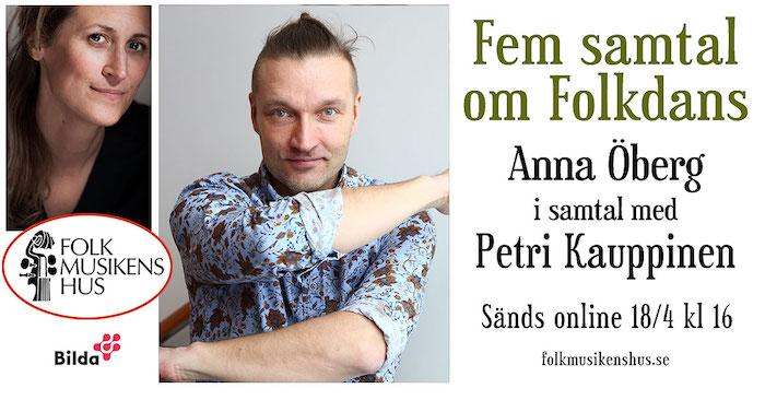Header För Samtalserie Om Folkdans