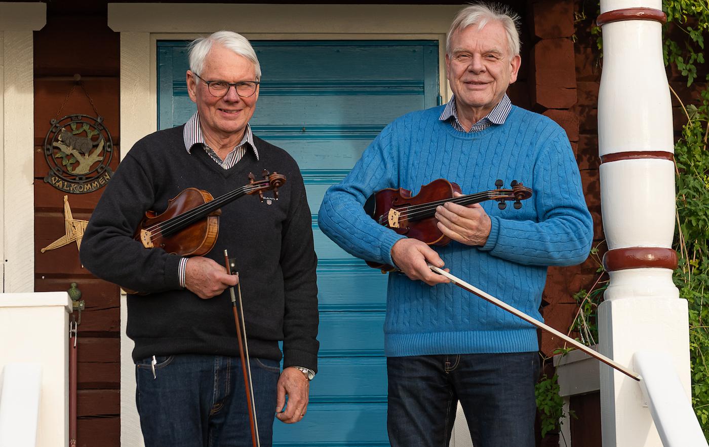 Foto På Kungs Levi & Alm Nils; Fotograf Torbjörn Ivarsson