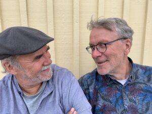 Foto på Ale Möller och Per Gudmundson