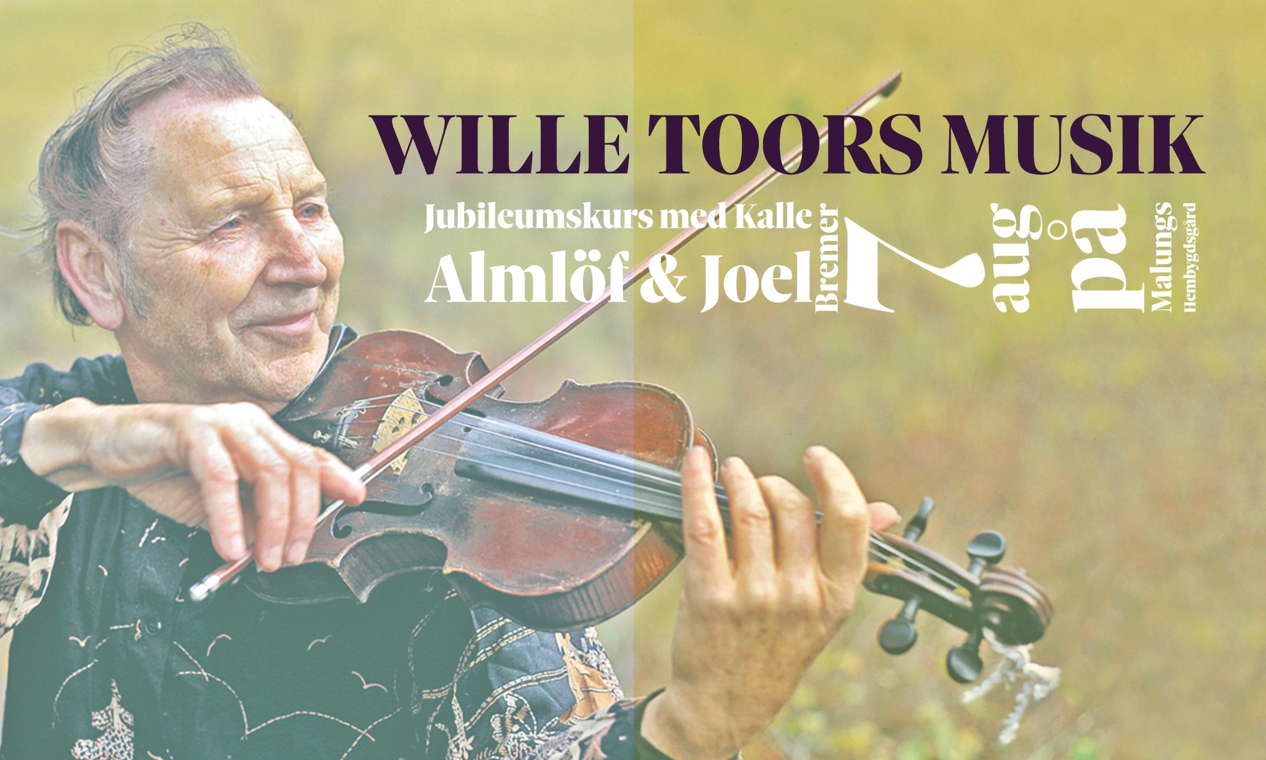Låtkurs: Wille Toors musik