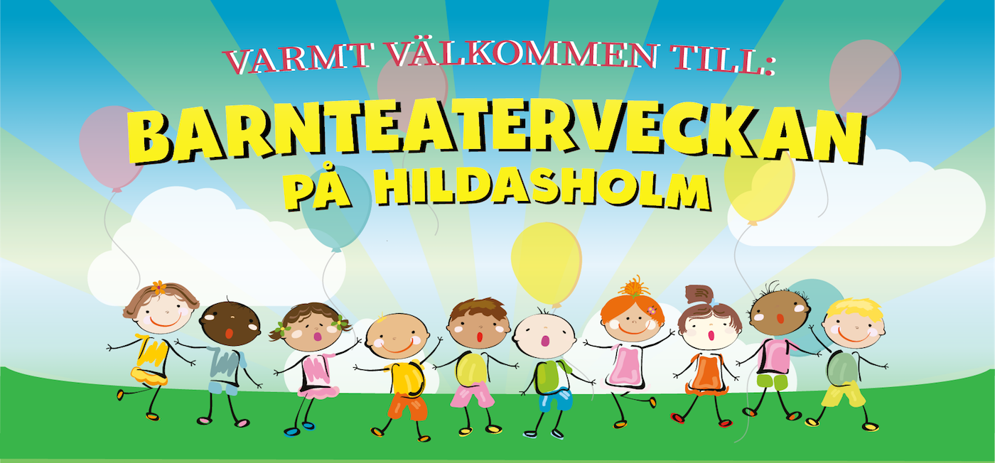 Header För Barnteaterveckan På Hildasholm
