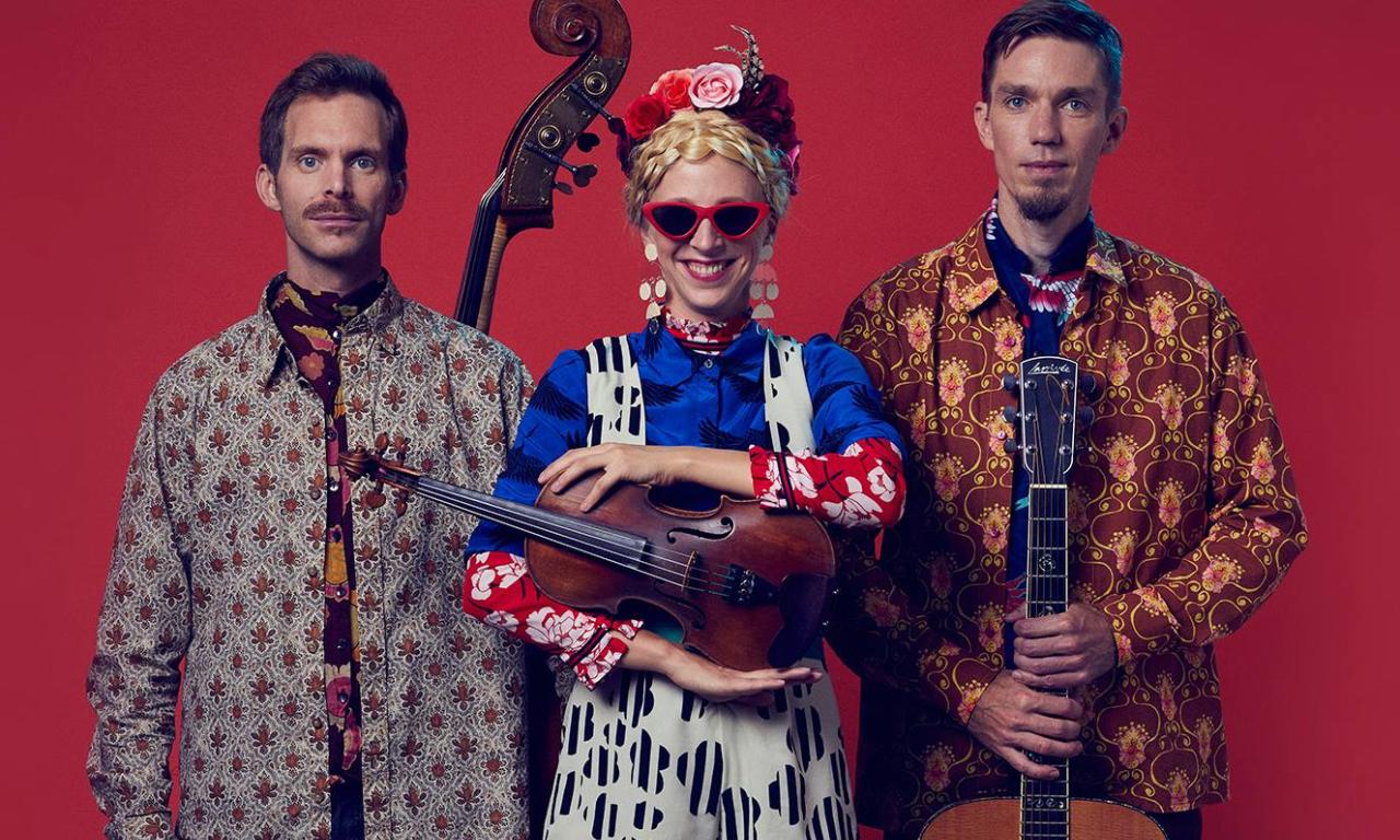 Lena Jonsson Trio - Ungdomskurs på Folkmusiknatta