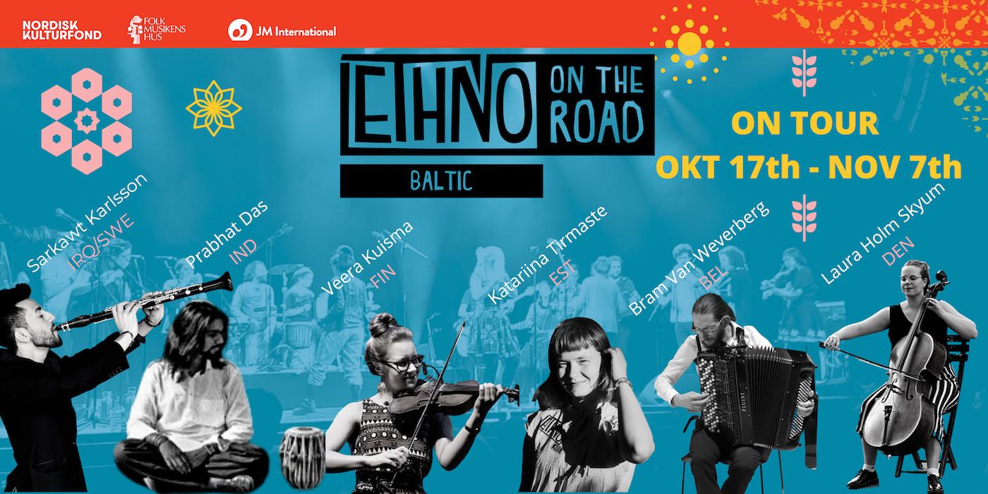 Collage På Baltic Ethno On The Road